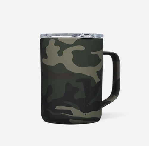 Corkcicle Coffee Mug - Woodland Camo