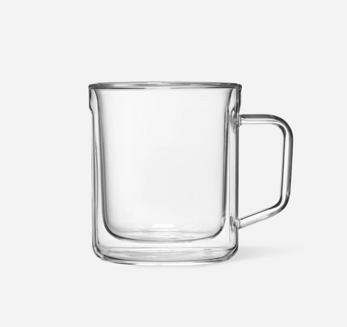 Corckcicle Glass Mug Set (2)- Clear