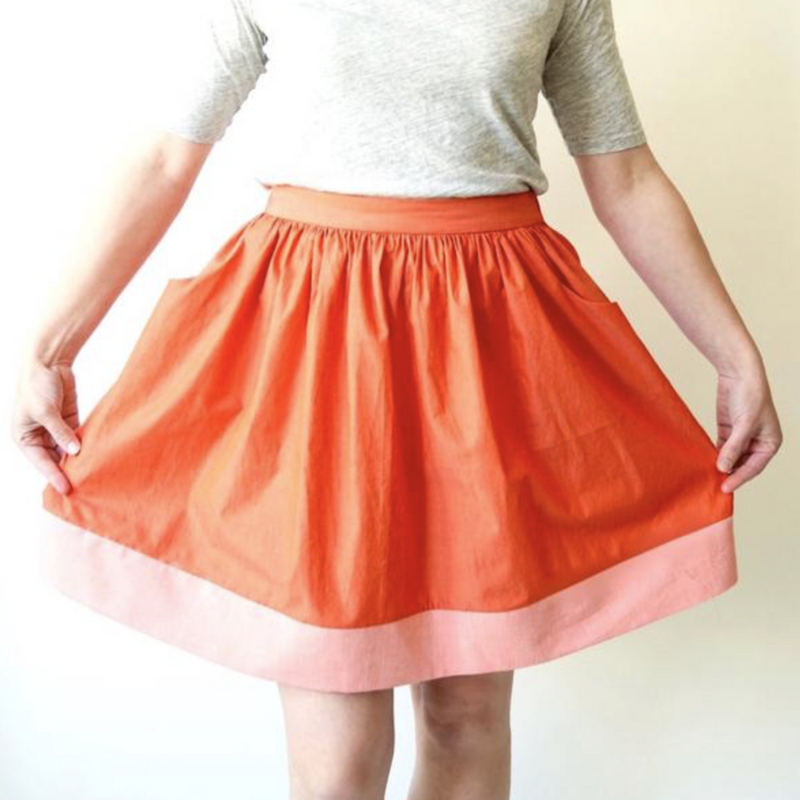Cleo Skirt - Printed Pattern