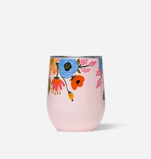 Rifle Paper Stemless - Lively Floral Blush