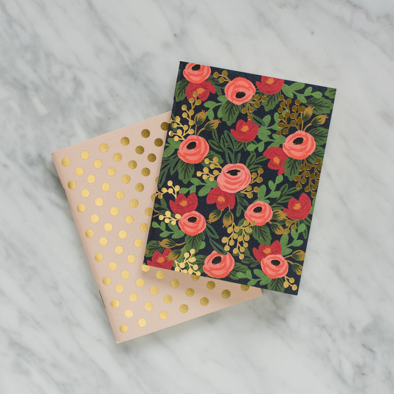 Rosa Pocket Notebooks - Set of 2