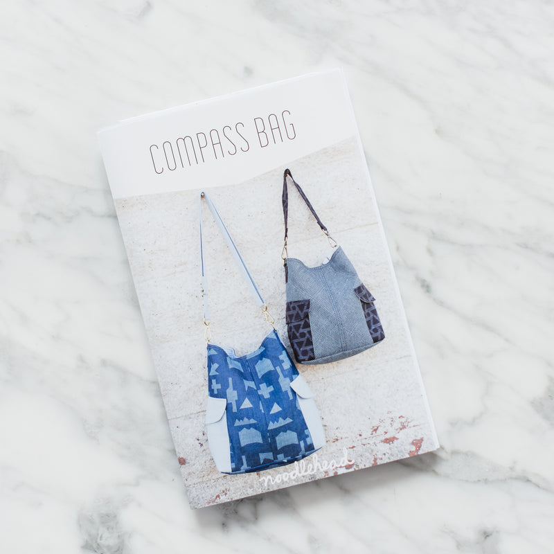 Compass Bag - Printed Pattern