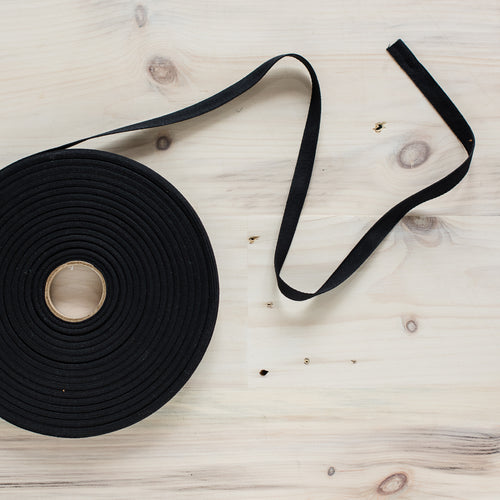 "1/2"" Twill Tape - Black"
