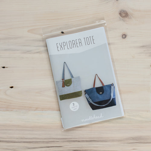 Explorer Tote - Printed Pattern