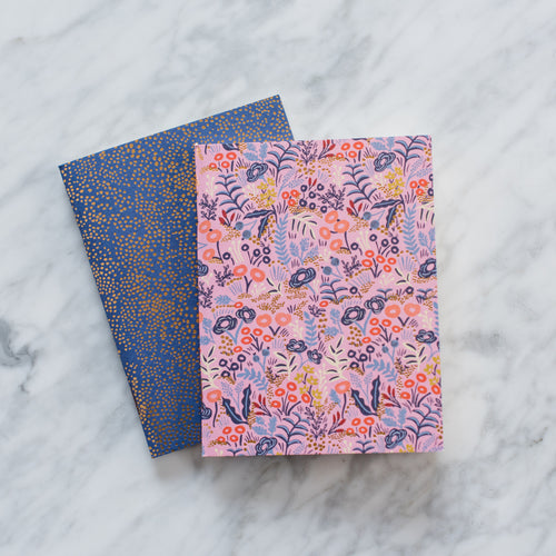 Tapestry Pocket Notebooks - Set of 2
