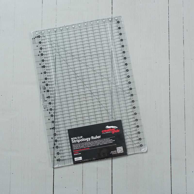 Non-Slip Stripology Ruler