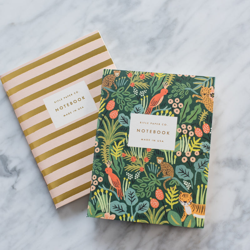 Jungle Pocket Notebooks - Set of 2