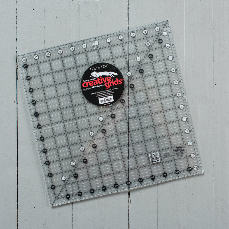 "Non-Slip Ruler - 12-1/2"" Square"