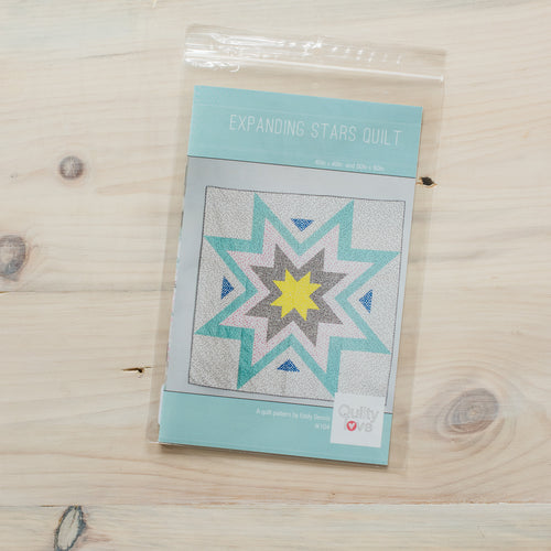 Expanding Stars Quilt - Printed Pattern