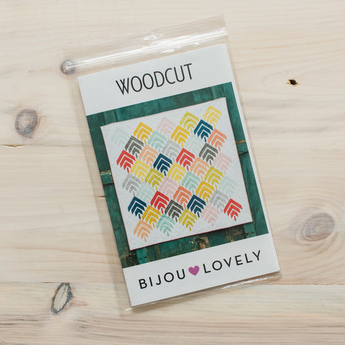 Woodcut Quilt - Printed Pattern