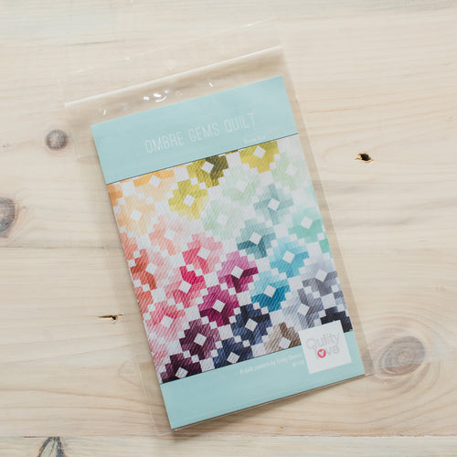 Ombre Gems Quilt - Printed Pattern