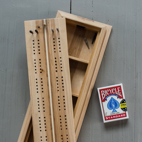 Tournament Cribbage Board & Box - Large