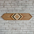 Reclaimed Wood Wall Art - Small Rectangle - Natural