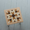 Reclaimed Wood Table -Star Pattern
