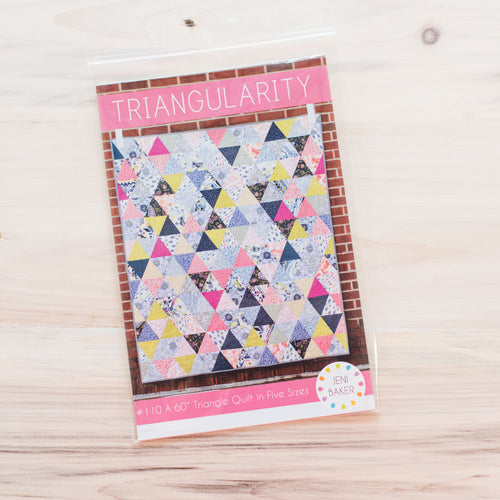Triangularity Quilt - Printed Pattern