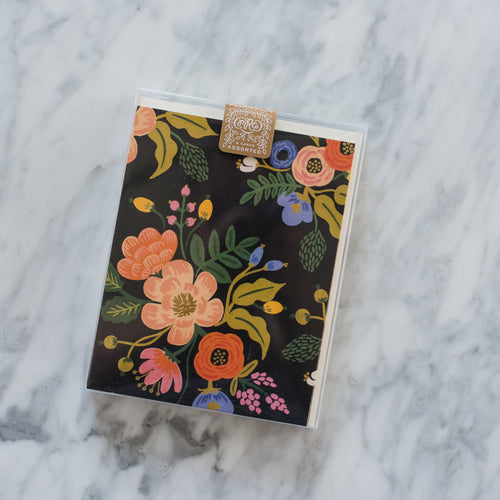 Lively Floral Notecard Set