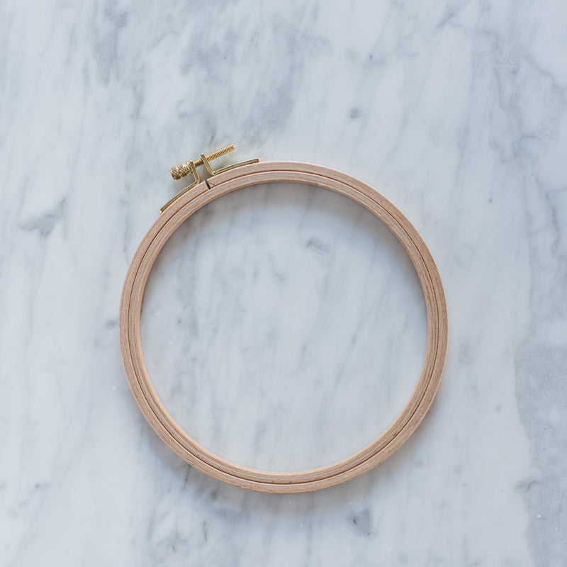 "6"" Wooden Embroidery Hoop"