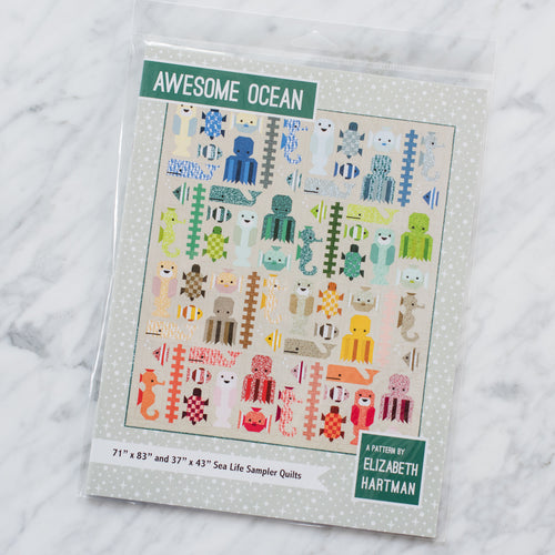 Awesome Ocean Quilt - Printed Pattern