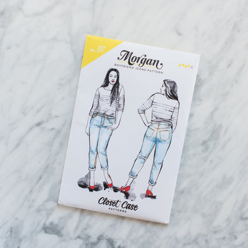 Morgan Boyfriend Jeans - Printed Pattern