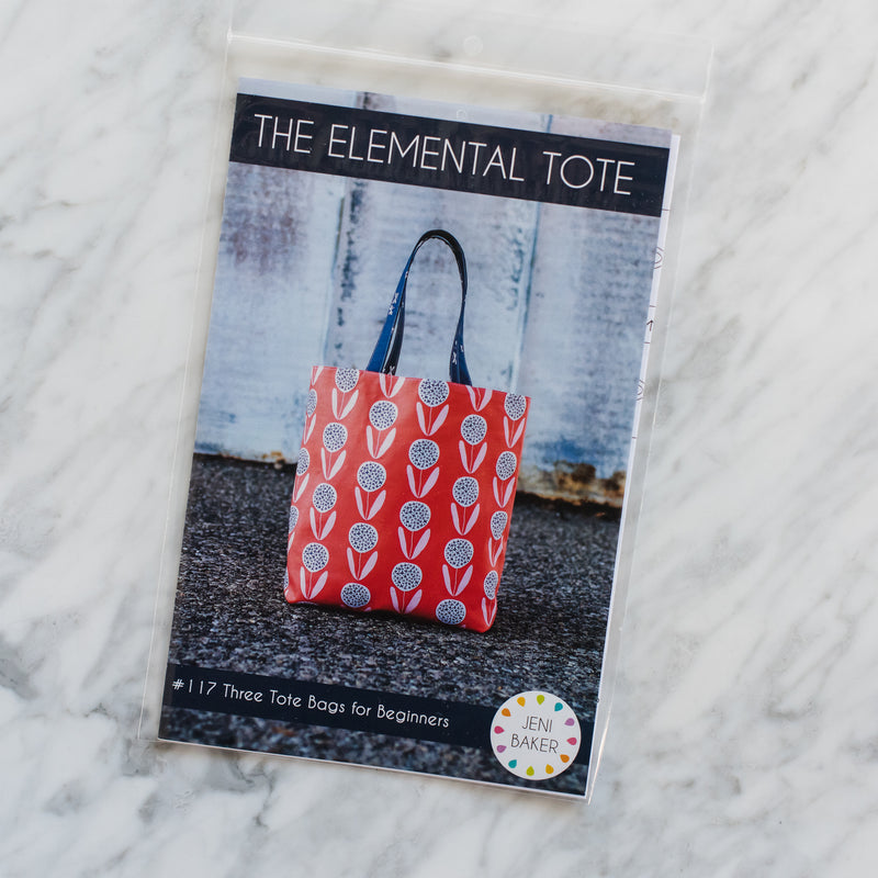 The Elemental Tote - Printed Pattern