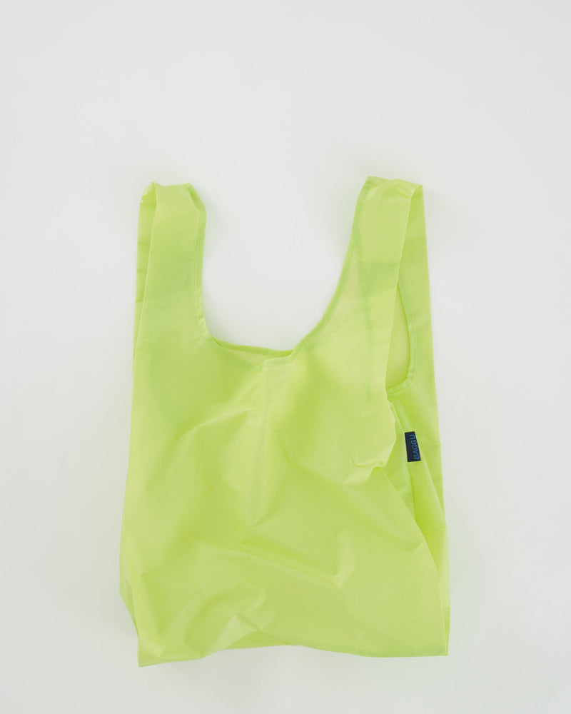 BAGGU Reusable Bag - Standard Size in Lime