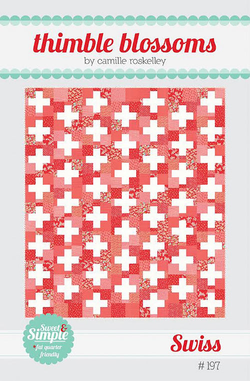 Swiss Quilt - Printed Pattern