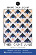 Seeing Double Quilt- Printed Pattern