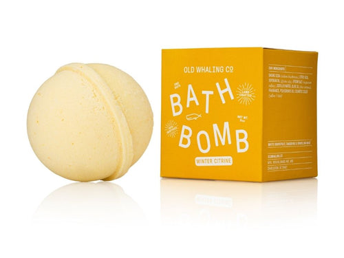 Winter Citrine Bath Bomb