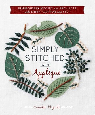 Simply Stitched with Applique Book