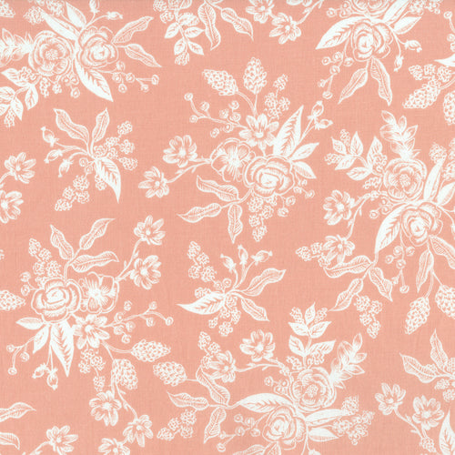 English Garden - Toile in Peach