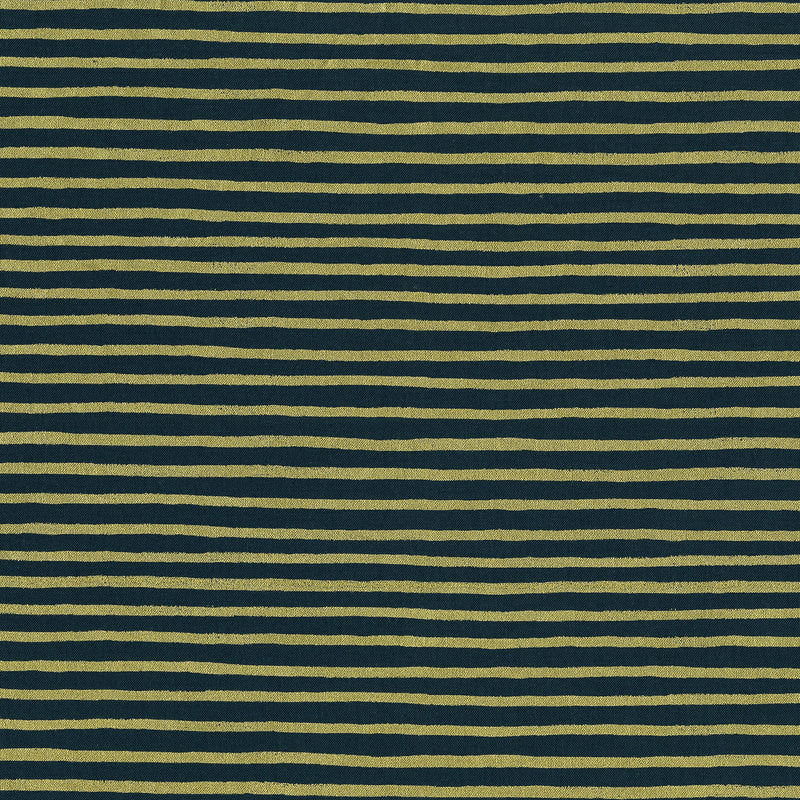 English Garden - Stripes in Navy