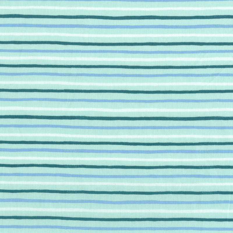 English Garden - Stripes in Mint