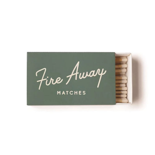 Safety Matches - Fire Away