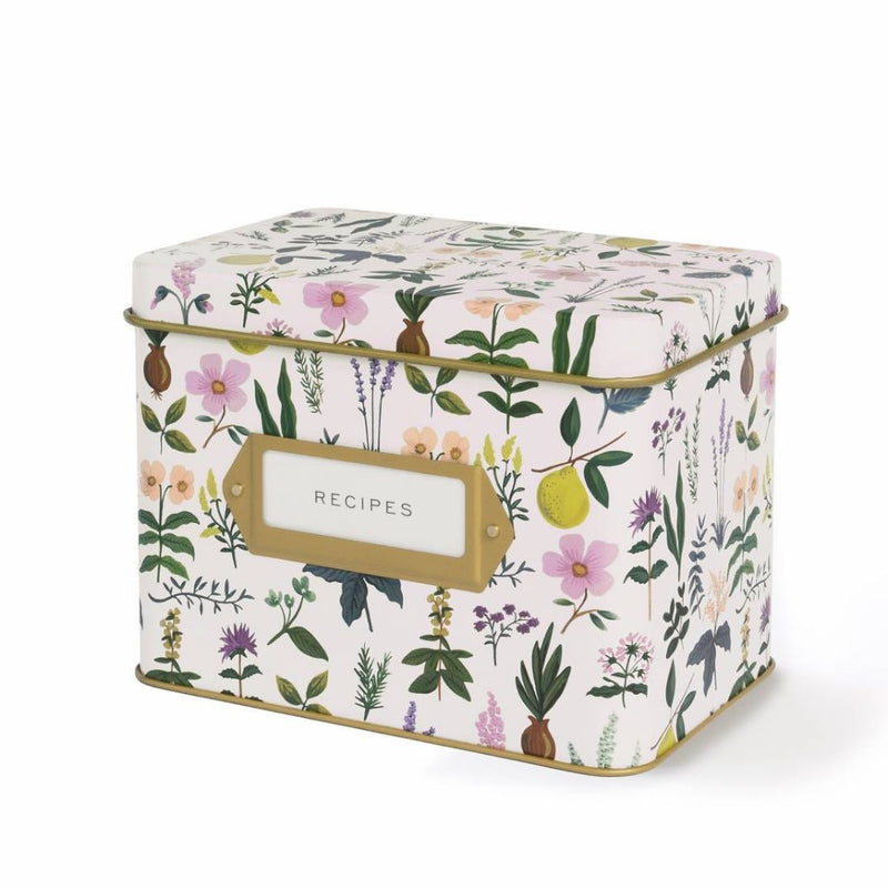 Herb Garden Recipe Box Set