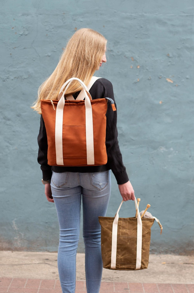 Buckthorn Backpack & Tote - Printed Pattern