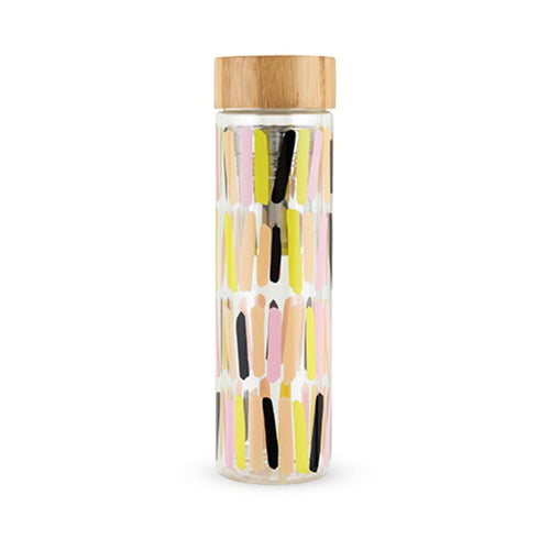 Sprinkles Glass Travel Infuser Mug