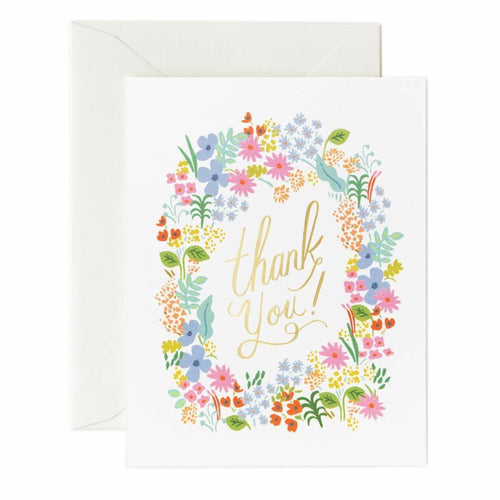 Prairie Thank You Card