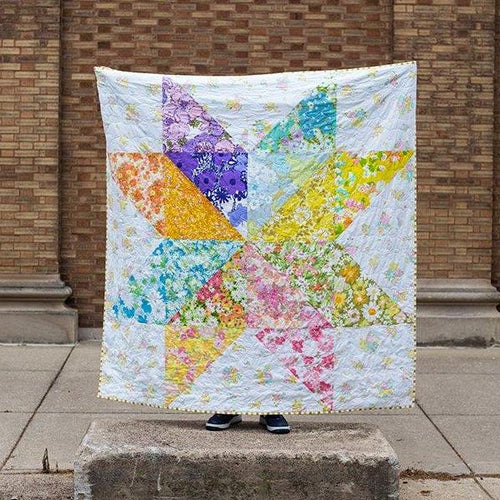 Giant Vintage Star Quilt - Printed Pattern