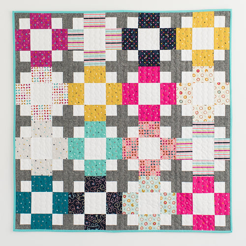 Hopscotch Quilt Workshop with Emily Dennis - Saturday, Nov 3rd from 2-5pm