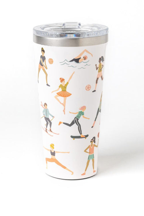 Rifle Paper Tumbler - Sports Girls