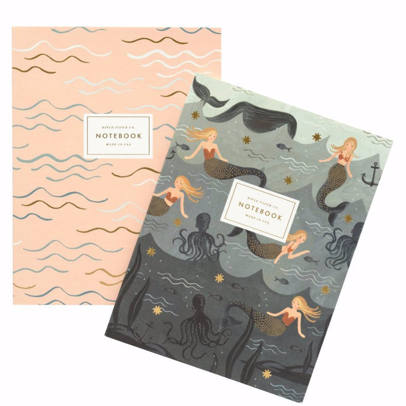 Mermaid Notebooks - Set of 2