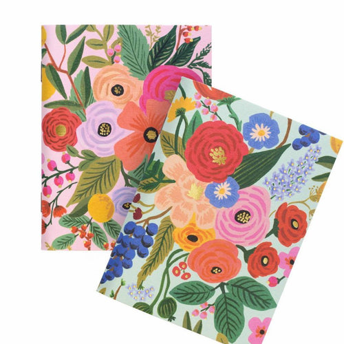 Garden Party Pocket Notebooks - Set of 2