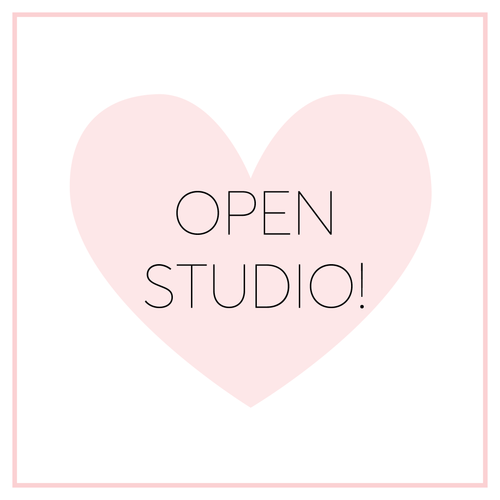 Open Studio - Sunday, Feb 25th from 1-5 pm