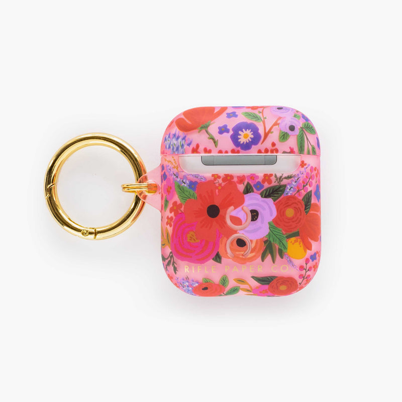 Clear Blush Garden Party AirPod Case