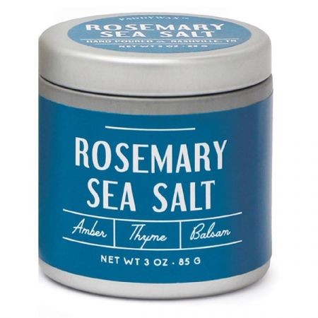 Rosemary Sea Salt- Tin Candle