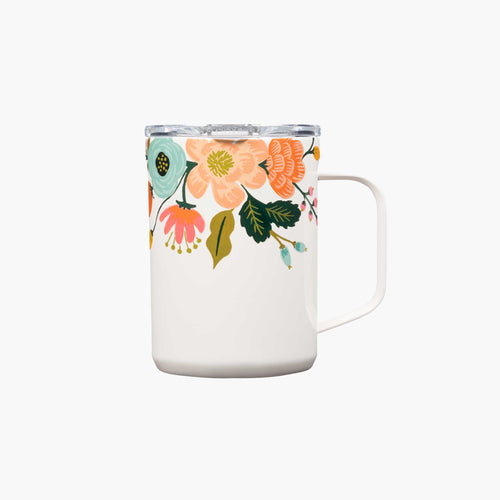 Rifle Paper Mug - Lively Floral in Cream