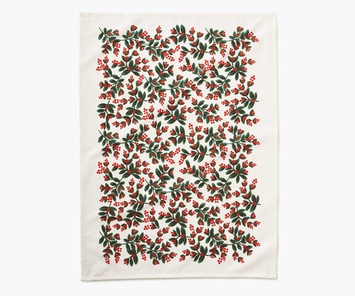 Mistletoe Tea Towel