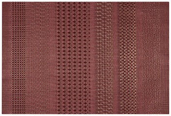 Cadence Placemat in Crimson