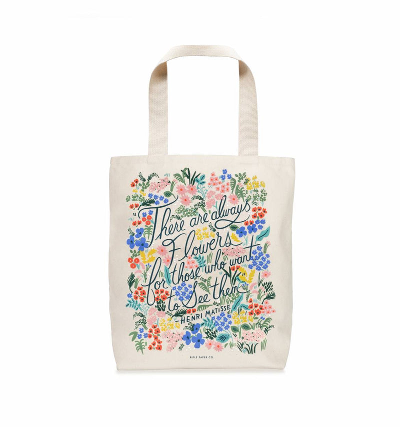 Seeing Flowers Tote