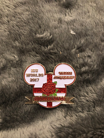Disney edition team England pin